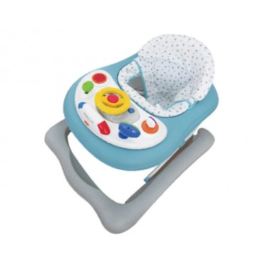 Kikkaboo Walker with music toy On the road Blue, 3807000140920