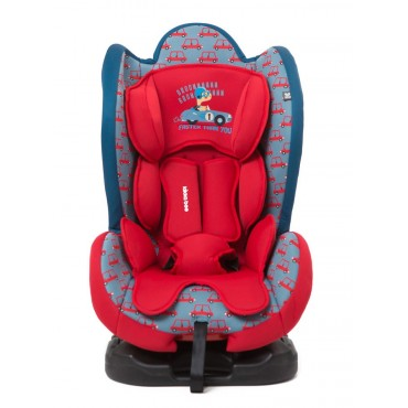 Kikkaboo safety car seat 0-25kg Bon Voyage Red Cars, 3807000160560