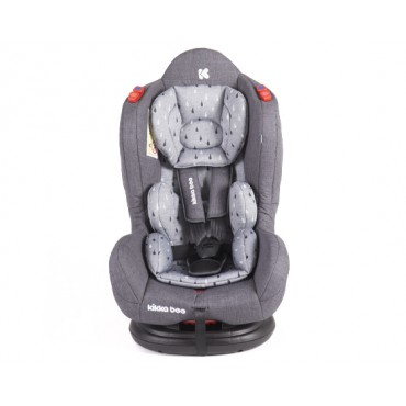 Kikkaboo safety car seat 0-25 kg Hood, Grey 31002060014