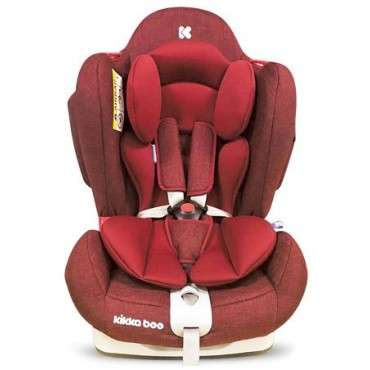 Kikkaboo safety car seat 0-25kg O'Right  Red, 3807000160614