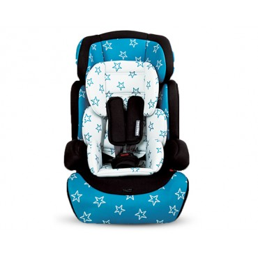 Kikkaboo safety car seat Groove Blue Stars 9-36kg , 160157