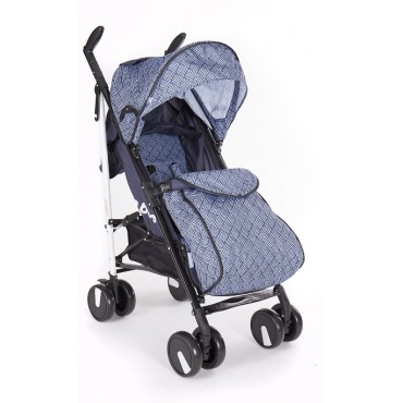 Kikabbo Baby Stroller Quincy, Blue 31001030035