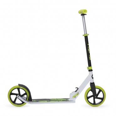 BYOX aluminum scooter with 200mm wheels Storm Green, GSS-A2-004D