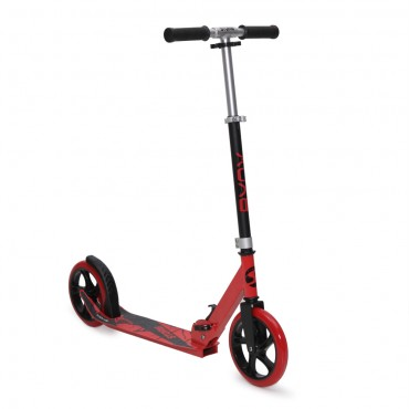 BYOX luminum scooter with 200mm wheels Storm Red, GSS-A2-004D