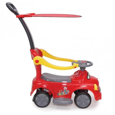 Moni Pushing car with handle GO, JY - Z02B Red