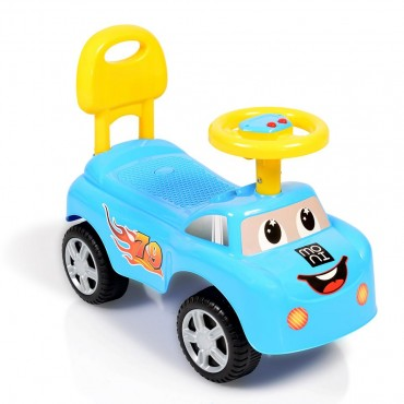 Moni Ride On Car Moni Keep Riding, 618A Blue