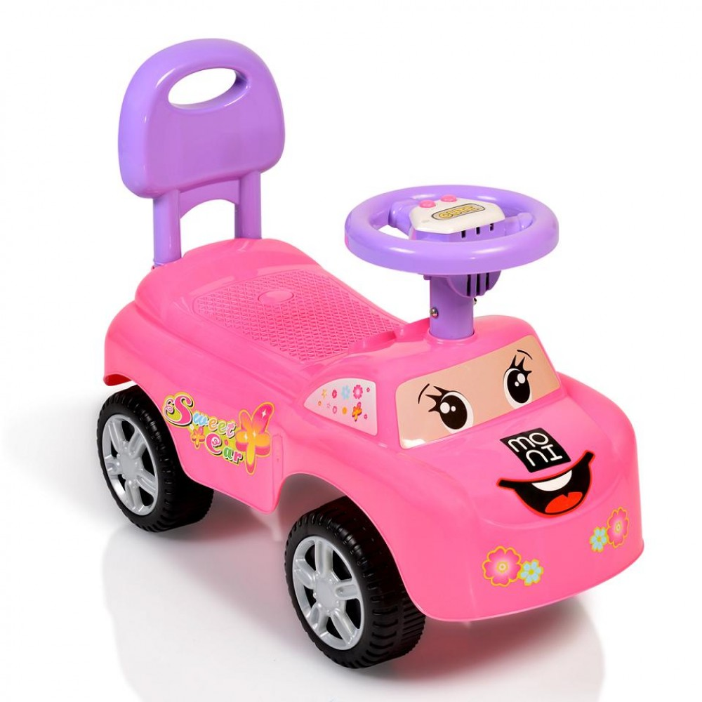 Moni Ride On Car Moni Keep Riding, 618A Pink