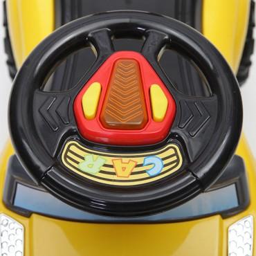 Moni children's toy car and walker Ride on Tiger range Blue, Q05-2