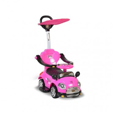 Moni Ride on with canopy Paradise Pink