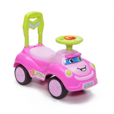 Moni children's toy car and walker , Ride on Pretty Pink, Q06-2
