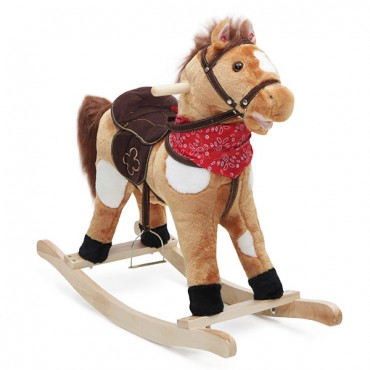 Moni Plush Rocking Horse , Thunder