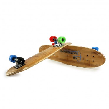 Moni  Skateboard Fish Cruiser Bamboo