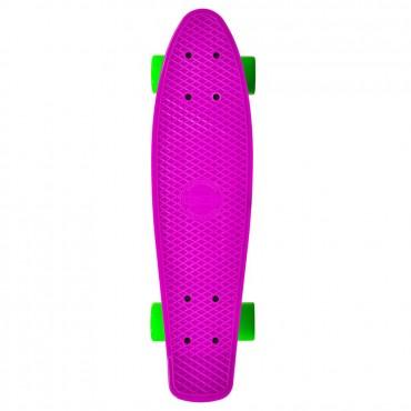 "BYOX Skateboard PP Spice 22"" Pink"