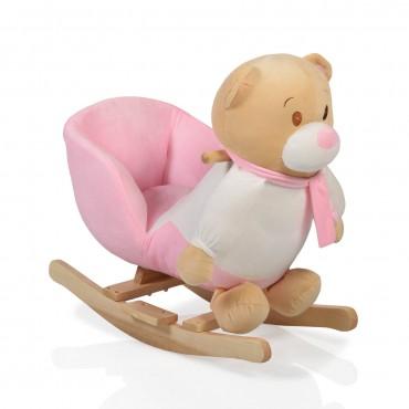 Moni Rocking Bear , Swing Bear Pink