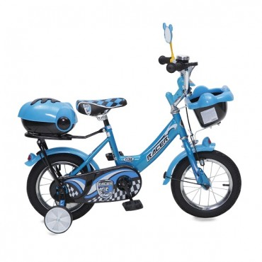 "Moni Children's bicycle 12"""" 1282 Blue"