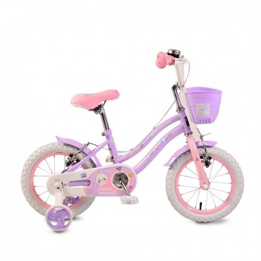 Moni children's bicycle 14'' ,1483 Purple