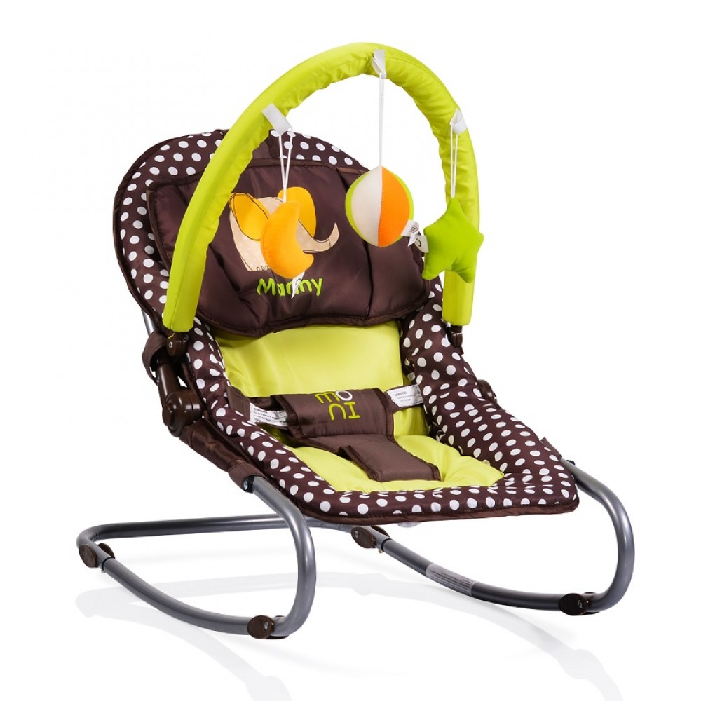 Cangaroo Baby Bouncer Manny, Brown