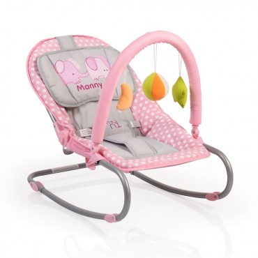 Cangaroo Baby Bouncer Manny, Pink