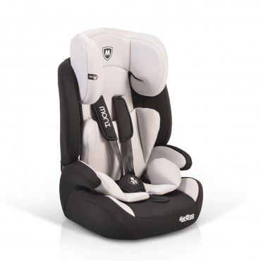 Moni car seat 9-36 kg Armor, Light Grey