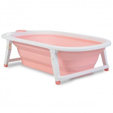 Cangaroo Foldable Baby Bath ,Carribean Pink