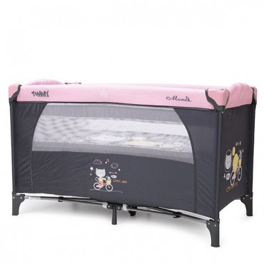 Moni 2-level play yard Tommy Pink