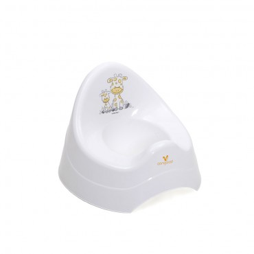 Cangaroo potty Giraffe White
