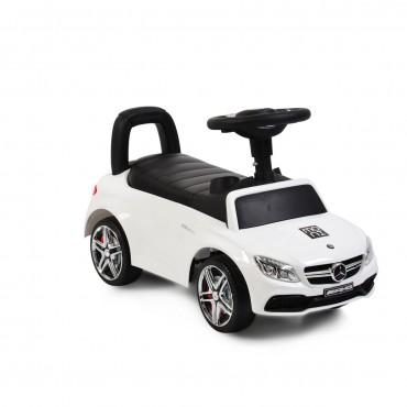 Moni Ride on Mercedes Coupe C63,  White
