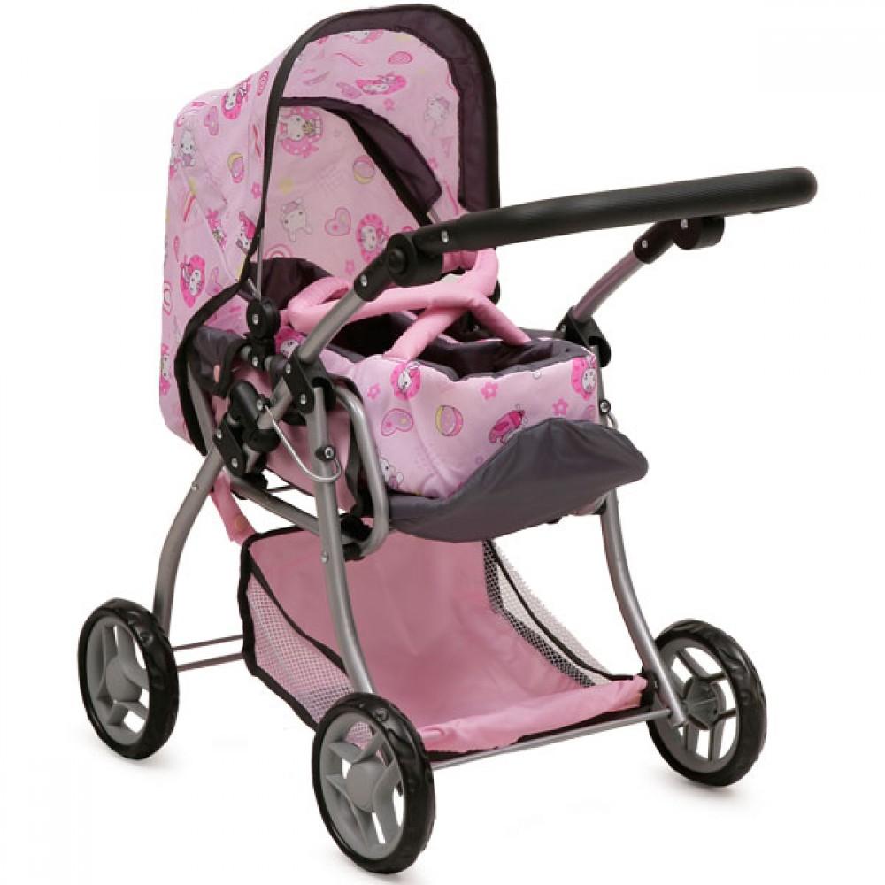 Stroller for dolls Kitty - 9672