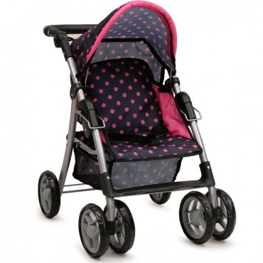 Nano doll stroller Pinky Dots, 9352