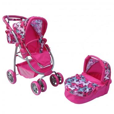 Nano doll stroller 2 in 1 Sweet heart, 9662