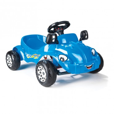 Pilsan Car with pedals Happy Herby Blue, 07303B