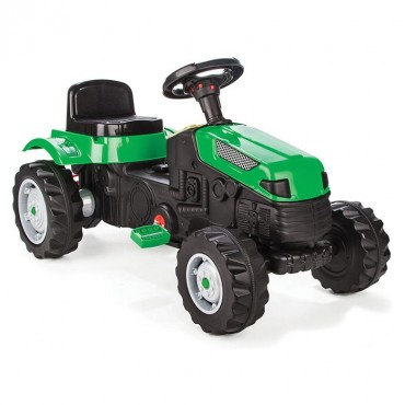 Pilsan children's tractor with pedals Tractor Active Green, 07314