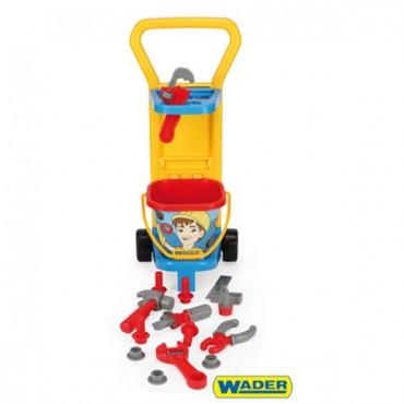 Wader Push car with istruments 10776