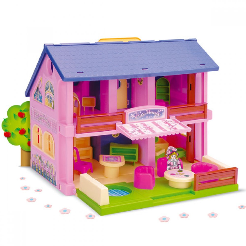 Wader Kids Play House 25400, 5900694254008