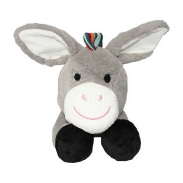 Zazu Donkey Soft Toy With Heart Beat Don,  ZA-DON-01