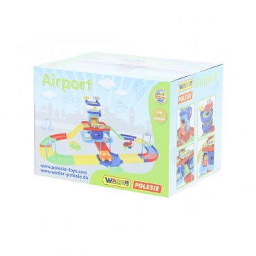 Polesie Play City Airport with street ,40404